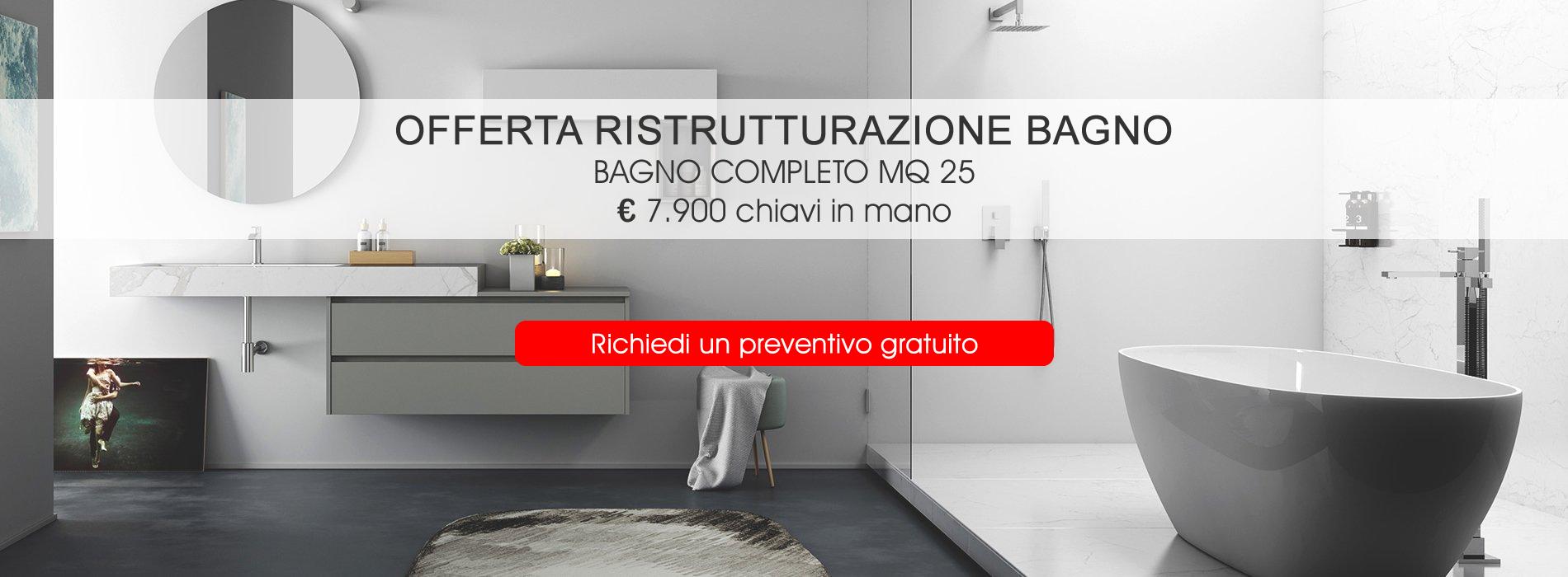 Ristrutturazione bagno Milano - Nuova Edil Costruzioni